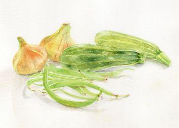 Summer Vegetables, Burton Agnes
