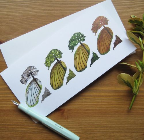 Four Seasons card