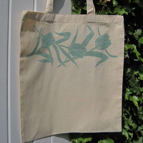 Tulip Garland Tote Bag