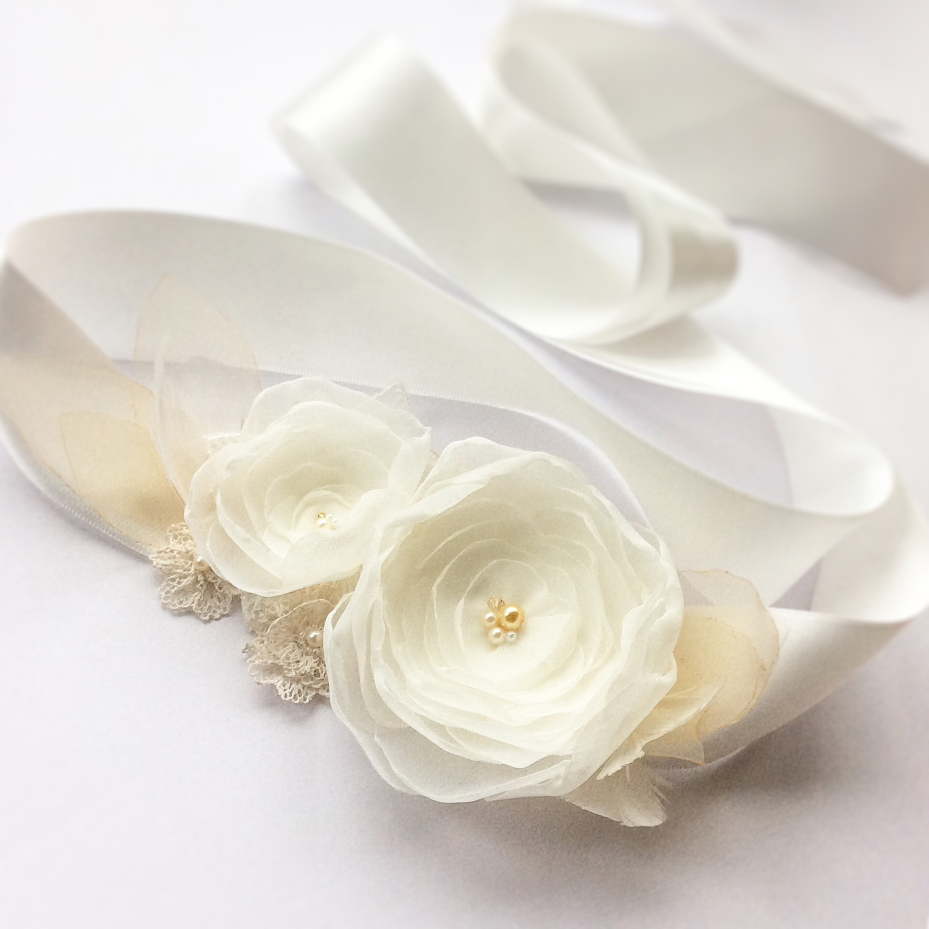 Bespoke wedding sash