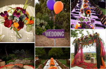 colourful wedding colours Shutterfly autumn 2018