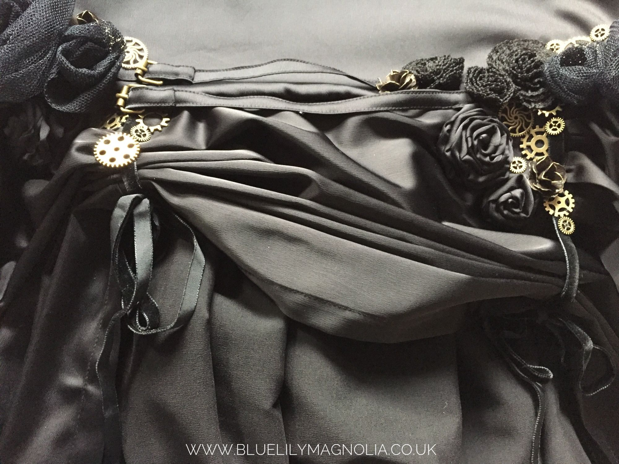 steampunk skirt by Blue Lily Magnolia