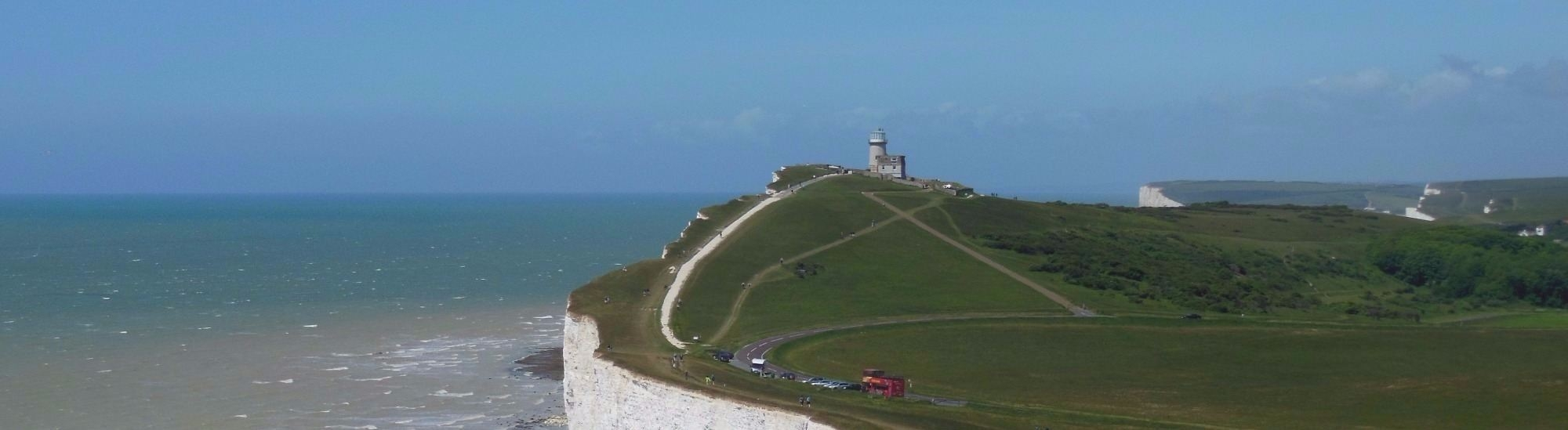 Crossing Beachy Head