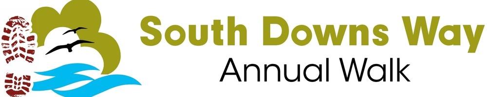 Annual South Downs Way Walk, site logo.