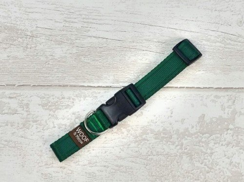 Forest Green Dog Collar