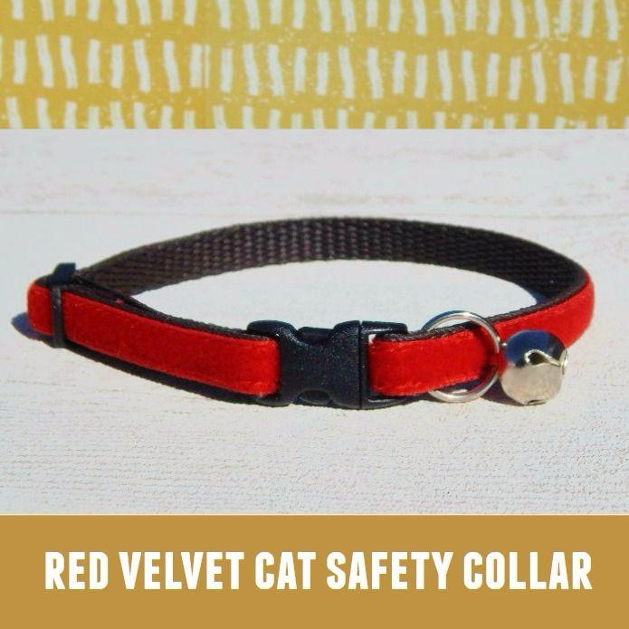 Cat Collar Red Velvet