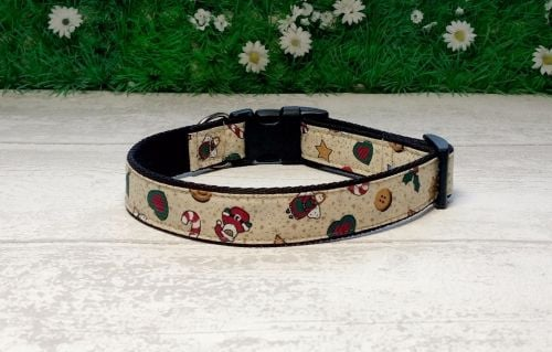 Favourite Christmas Things Dog Collar
