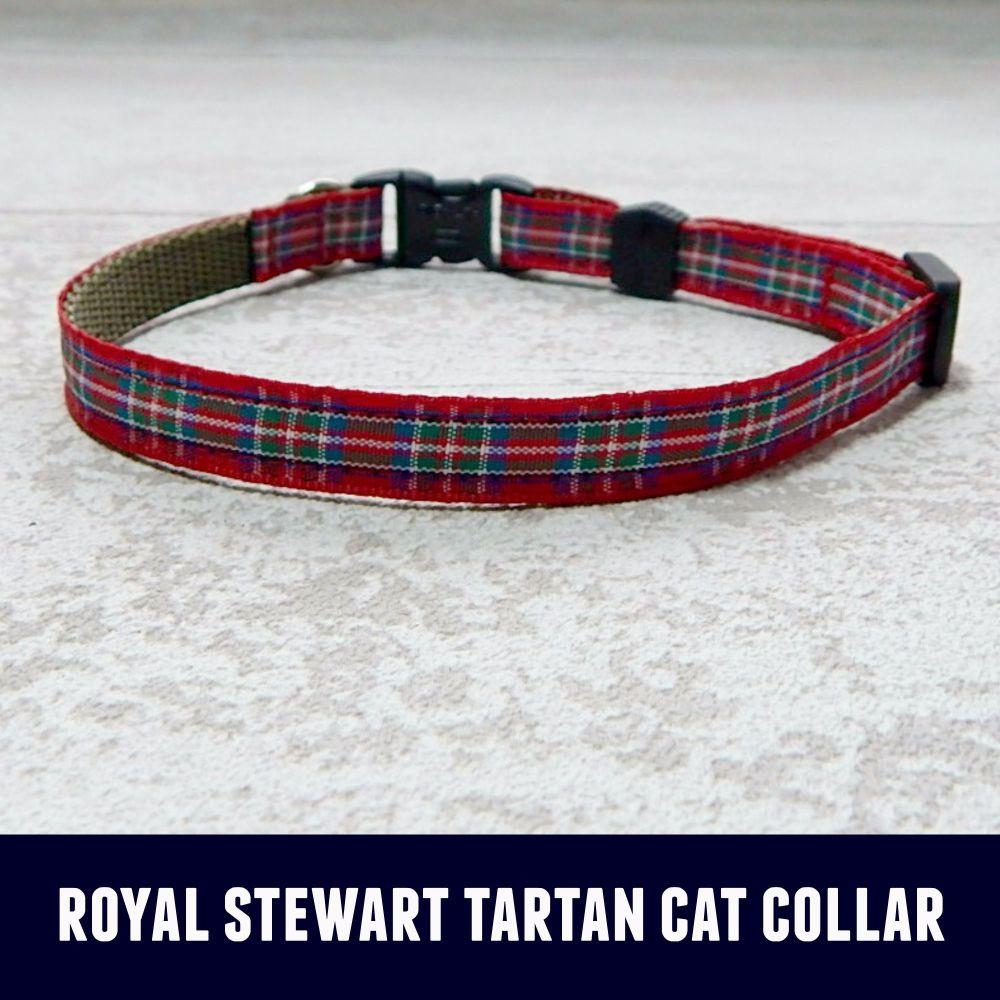 Cat Collar Royal Stewart Tartan