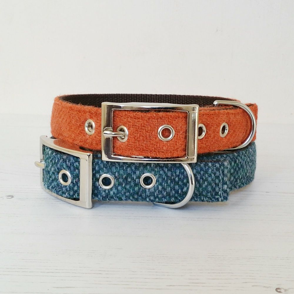 Harris Tweed Dog Collar Classic Edition