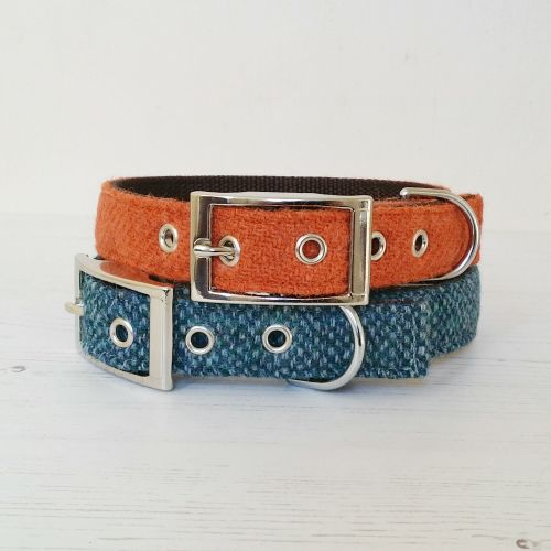 Harris Tweed Dog Collar Classic Edition