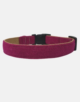 Harris Tweed Dog Collar Sport Edition Pink