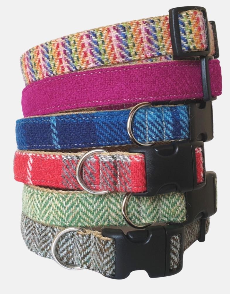 Sport Edition Harris Tweed Dog Collars
