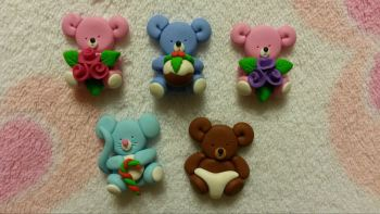 Pack of 5 Assorted Mini Pets