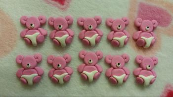 Pack of 10 Baby Bears in Nappy