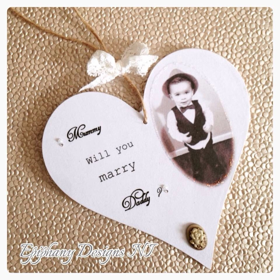 Will you Marry Me / Mummy / Daddy - personalised plaque with photo