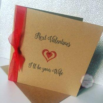 Valentines Day card - Next Valentines