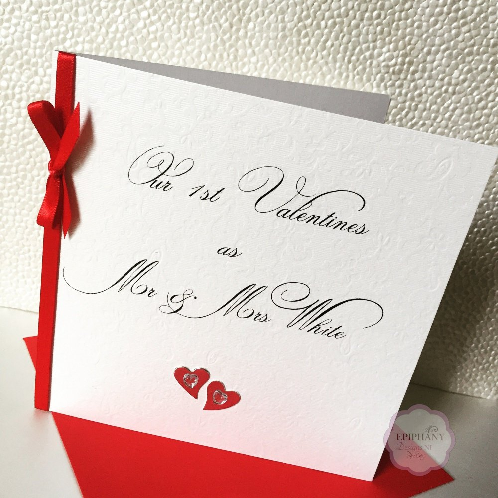 Chic Boutique Range 1st Valentines Married