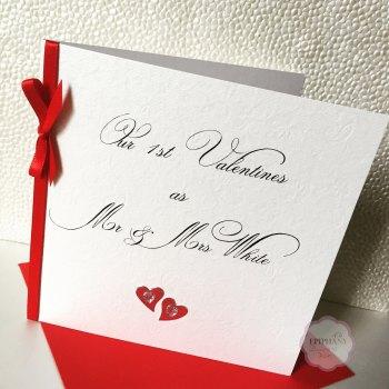 Chic Boutique Range 1st Valentines Married