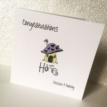 New Home Card Personalised