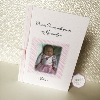 Will you be my Godparent Card with Photo