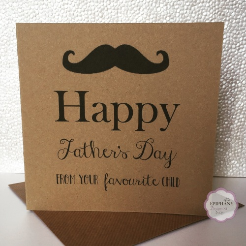 Fathers Day Card - from your favourite child