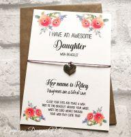 Wish Bracelet - Daughter