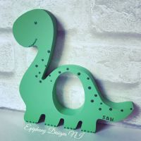 Easter Egg Holder Dinosaur for Kinder Egg Personalised Green