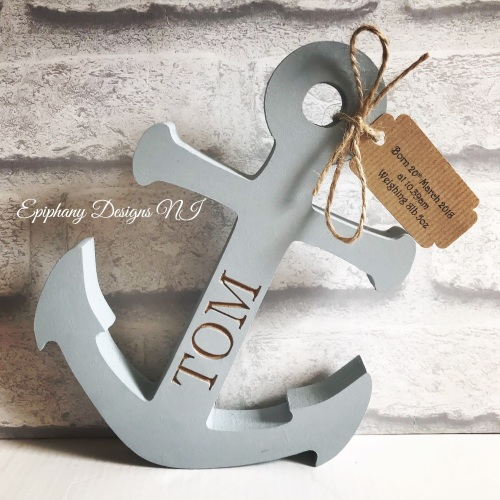 Freestanding Anchor with name engraved