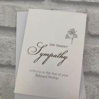 Small Sympathy Card