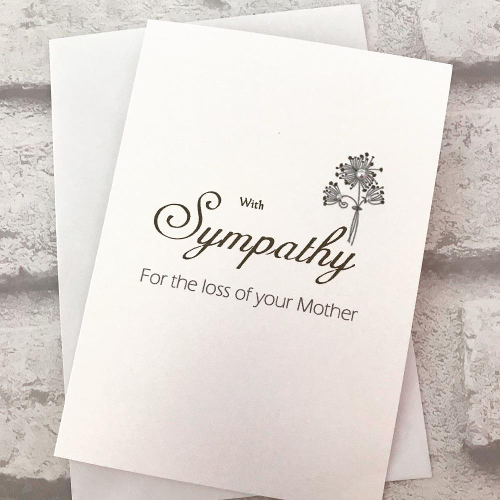 Sympathy Card - standard size