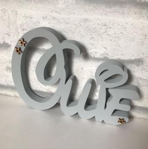 Freestanding Disney Style Name (per letter)
