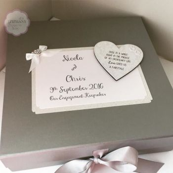Engagement, Wedding, Anniversary Keepsake Box
