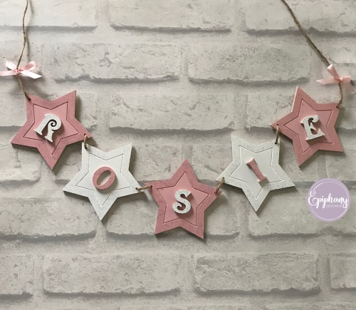 Star Bunting (per letter)