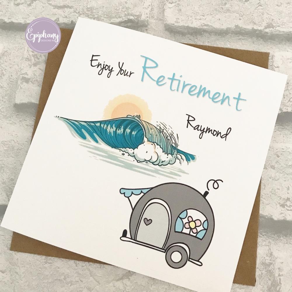 Enjoy your Retirement - caravan