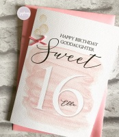 Chic Boutique - Birthday Card with age