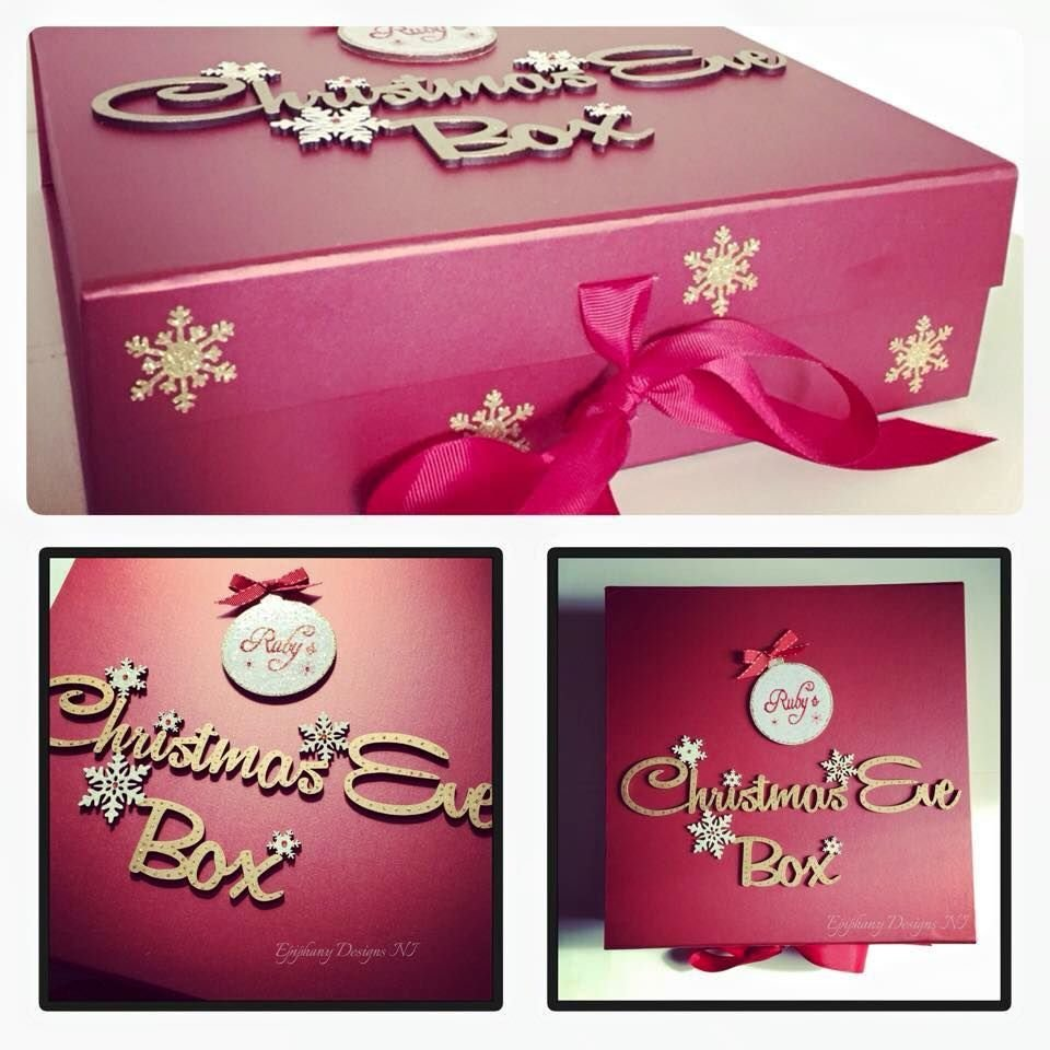 pearl red christmas eve box
