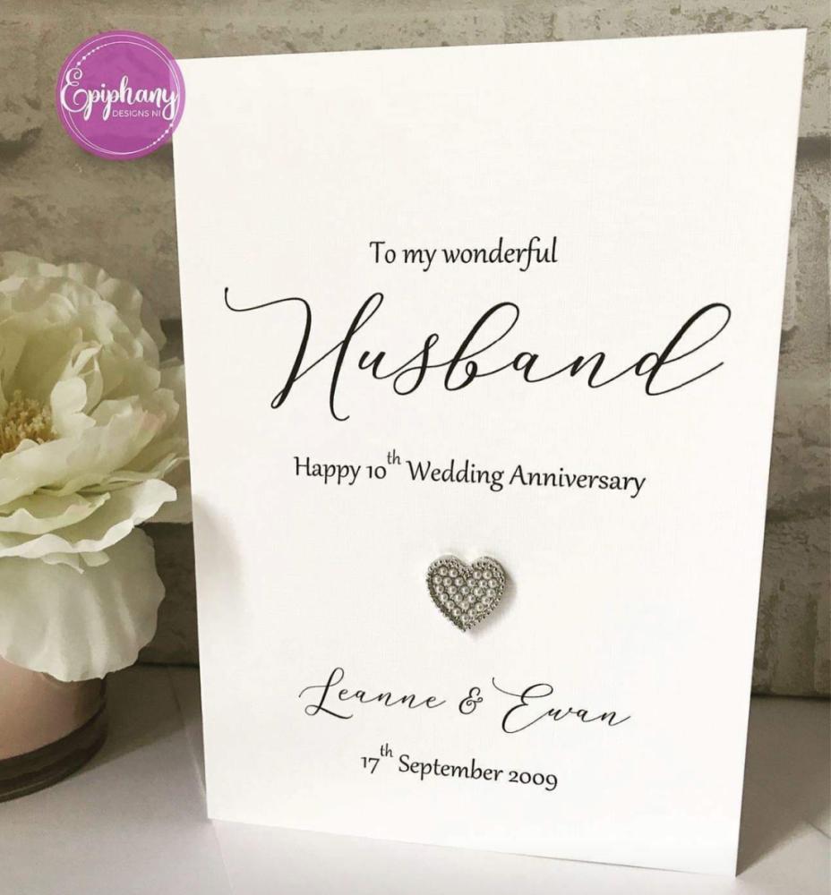 To my Husband / Wife Wedding Anniversary Card