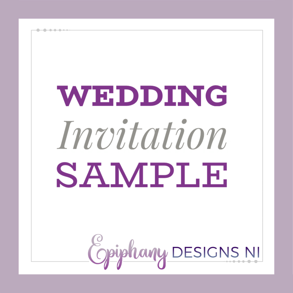 Wedding Invitation Sample Request
