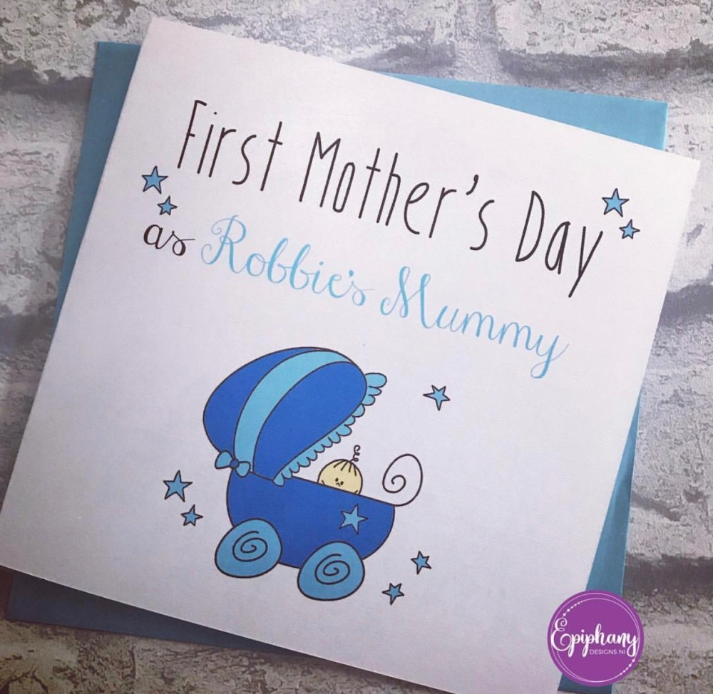 First Mother's Day as (childs name) mummy