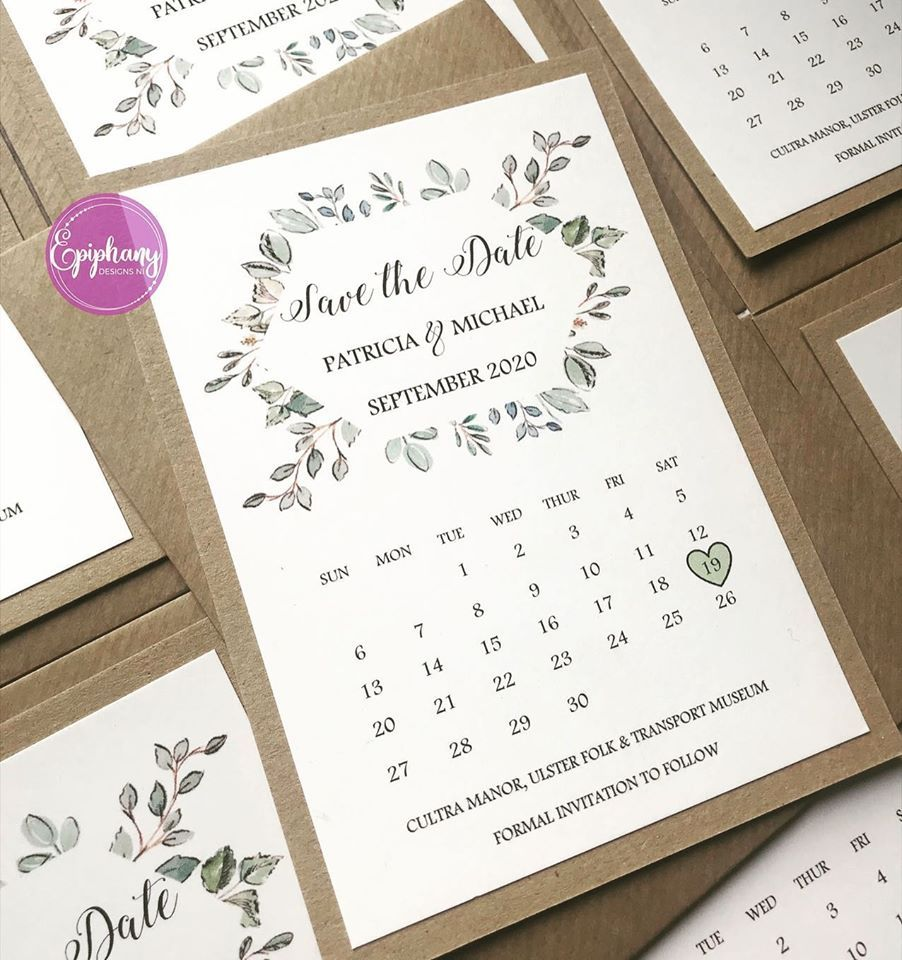 Save the Date - Rustic (pack 10)