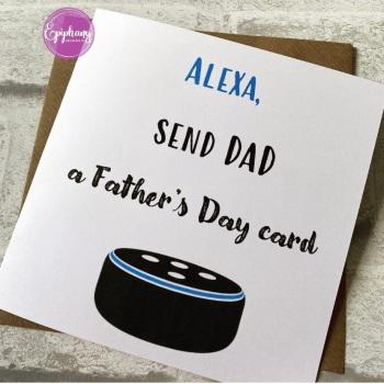 Fathers Day Card - Alexa send a card -