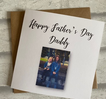 Fathers Day Card with Photo