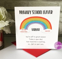 Primary School Leaver Card