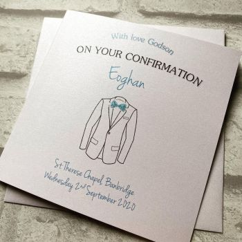 Send love on your Holy Communion / Confirmation - suit jacket