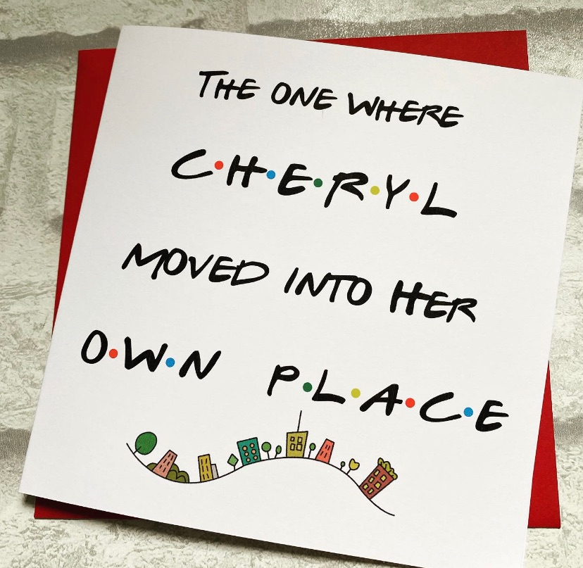 New Home Friends theme - own place personalised