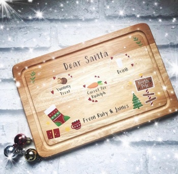 Christmas Eve Board - personalised - Dear Santa