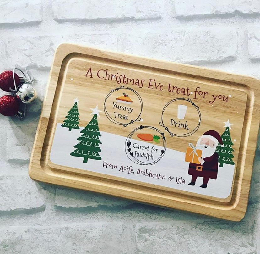 Christmas Eve Board - personalised - treat for you
