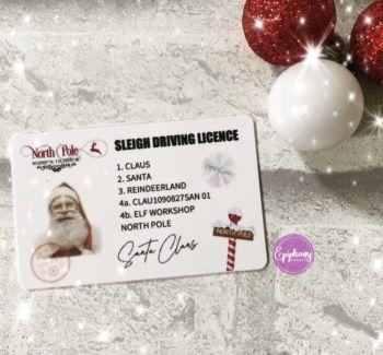 Santa's Lost Driving Licence