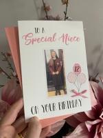 Birthday Card with photo