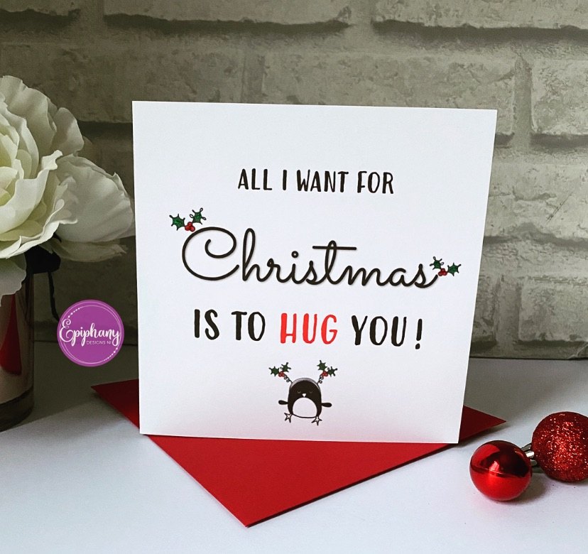 Christmas Card - All I want for Christmas
